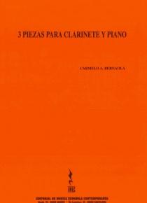 Tres piezas para clarinete y piano