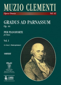 Gradus ad Parnassum Op. 44 for Piano, de Muzio Clementi vol. I