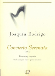 Serenata concerto (harp and piano reduction)