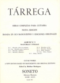 Guitar complete works. Album no 1, Mazurkas and polkas