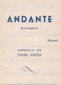 Andante (de la Sonata 2ª)