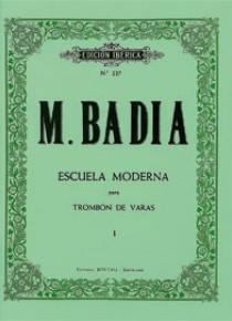Método trombón de varas Vol.I, by Miguel Badia