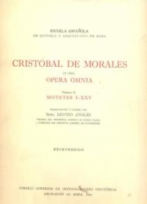 Opera Omnia vol. II (Motetes I-XXV)