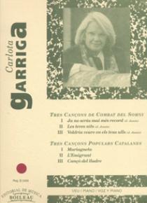 Cançons de Combat del Somni i Populars Catalanes, de Carlota Garriga