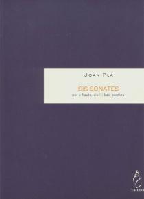 6 Sonates para flauta, violín y bajo continuo