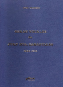 Choral works by J.B. Cabanilles