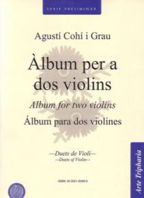 Àlbum per a dos violins