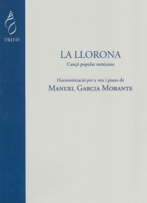 La Llorona, for voice and piano
