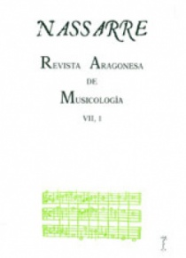 Nassarre. Revista Aragonesa de Musicología, VII, 1