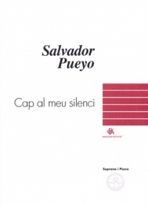 Cap al meu silenci, para soprano y piano