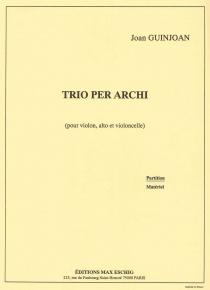 Trio de cordes
