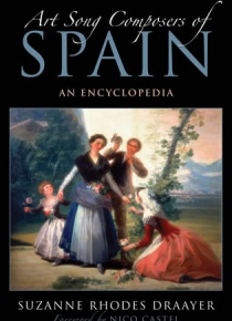 Art Song composer of Spain. An Encyclopedia