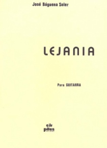 Lejanía, for guitar