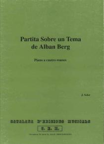Partita sobre un tema de Alban Berg