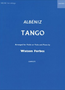 Tango arranged for violin