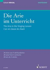 The aria in the singing lesson