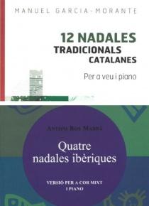 OFFER: Pack '12 nadales tradicionals catalanes' + 'Quatre nadales ibèriques'