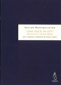 Una voce in off, operetta romantica, (recitative and two arias for soprano)