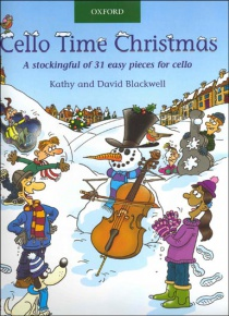 Cello time Christmas: A stockingful of 32 easy pieces for cello (amb CD)
