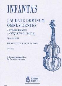 Laudate dominum omnes gentes - 4 composizioni a cinque voci (SATTB)