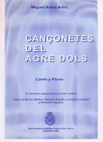 Cançonetes de l'agredolç (Bittersweet's little songs)