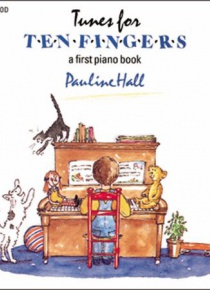 Tunes for ten fingers. A first piano book.
