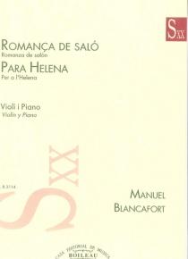 Romanza de Salón / Para Helena