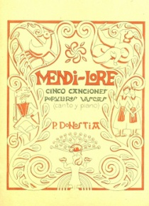 Mendi-lore. Five Basque Folksongs