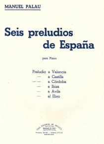 Seis Preludios de España. Córdoba