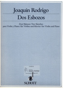Dos esbozos (two sketches)