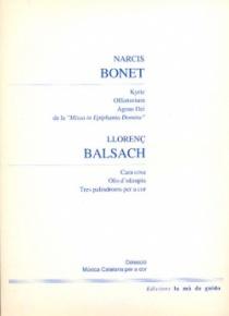 BONET / BALSACH: Coral music