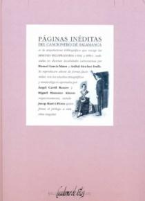 Páginas inéditas del Cancionero de Salamanca