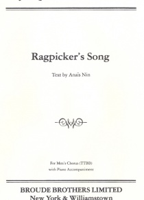 Ragpicker's Song (TTBB)