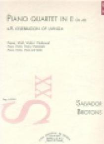 Piano Quartet in E, op. 48