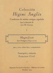 Colección Higini Anglés. Magnificat
