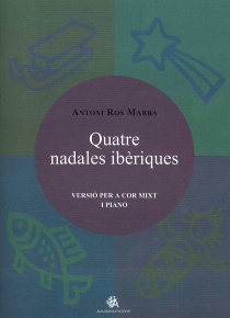 Quatre nadales ibèriques, piano reduction