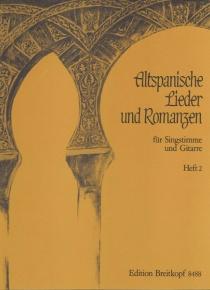 Altspanische lieder und romanzen. Vol. 1 - Canço