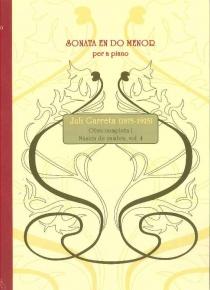 Sonata en Do menor - Mestres Gironins vol. IV