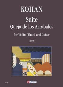 Suite 'Queja de los Arrabales' per Violino (Flauto) e Chitarra (2009)