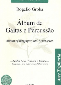 Album of bagpipes and percussion