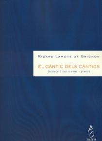 El càntic dels càntics (piano-vocal score)