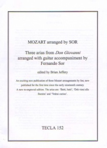 Three arias from Don Giovanni