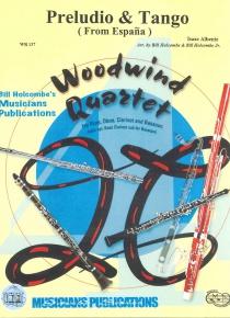 Preludio y tangio para cuarteto de vientos de madera