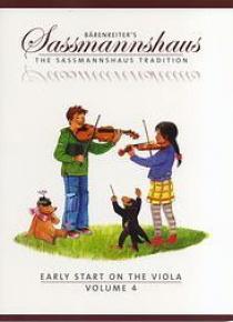 Egon Sassmannshaus vol. 4 (viola)