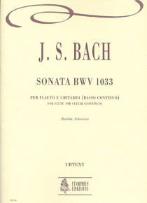 Sonata BWV 1033 for Flute and Guitar (Continuo), de Johann Sebastian Bach
