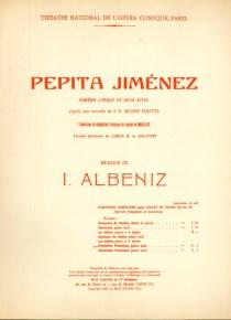 Pepita Jiménez. Première Fantasie