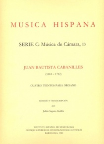 Four tientos for organ