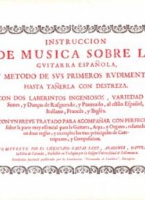 Instrucción de música sobre la guitarra española [2ª edición]