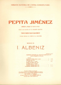 Pepita Jiménez: Deuxième Fantasie