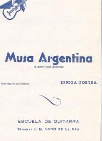 Musa Argentina (Tango)